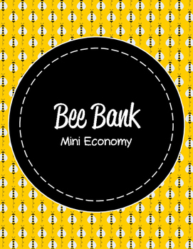Mini Economy Binder - Bee Themed