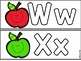 Mini Eraser Activity - Letter and Sight Word Practice - Apple Themed