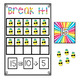 Mini Eraser Math - Pineapples (Add, Subtract, Count, Compo