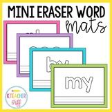 Mini Eraser Sight Word Mats