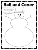 Mini Eraser Snowman Roll and Count