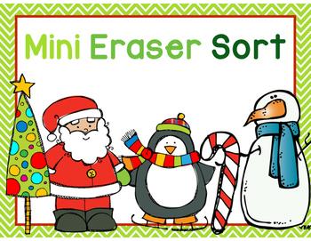 Mini Eraser Sort FREEBIE
