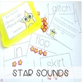 Mini Eraser Star Sounds! Count the Phonemes! (Orton-Gillingham Inspired)