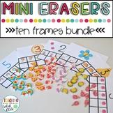 Mini Eraser Ten Frames Counting Bundle