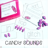 Mini Erasers Candy Sounds! Count the Phonemes Task Cards (Orton-Gillingham)