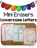 Mini Erasers Lowercase Letters