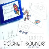 Mini Erasers Rocket Sounds Count the Phonemes (Orton-Gillingham)