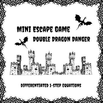 Mini Escape Game - Double Dragon Danger: 1-Step Equations
