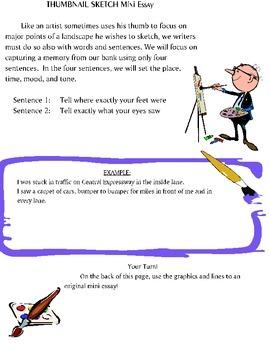 Mini Essays:Setting, Mood, and Tone