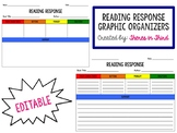 Reading Response Graphic Organizer