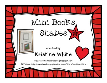 Mini Flip Books: Shapes