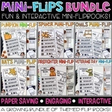Mini-Flip Bundle (Year Round Science and Social Studies Topics)