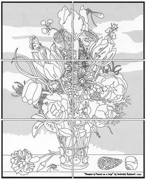 Mini Floral Mural Set
