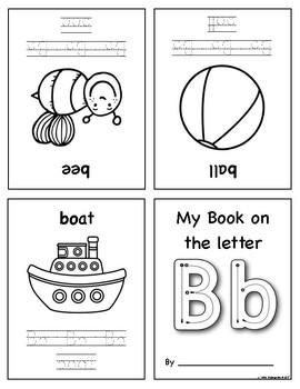 Mini Foldable Alphabet Books
