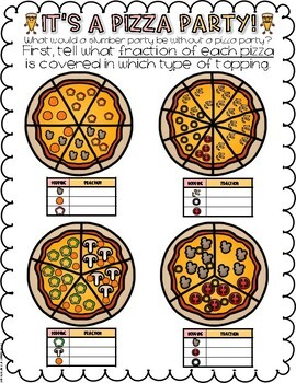 Fractions Mini Math Project