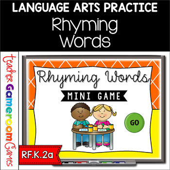 Mini Game - Rhyming Words
