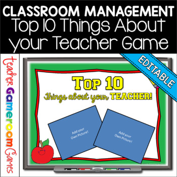 Top 10 Things about your Teacher! Mini Game