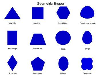 Mini Geomertic  Shapes Poster