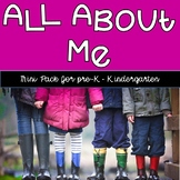 Mini Get to Know Me Back to School pack for preschool, kindergarten, and first