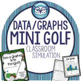 Mini-Golf Data and Graphing Activity