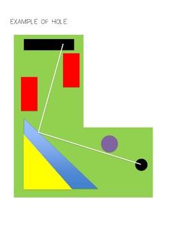 Mini Golf Mathematics Directed Investigation - Pythagoras and Trigonometry