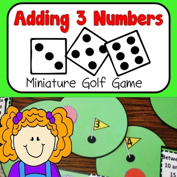 Adding 3 Numbers Game Single Digit