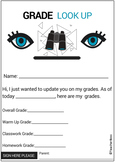 Mini Grade Progress Form