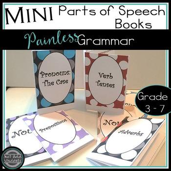 Mini Grammar Books: The Eight Parts of Speech