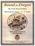 Mini-Guide for Juniors: Bound for Oregon Workbook