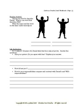 Mini-Guide for Juniors: Cabin on Trouble Creek Workbook