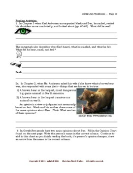 Mini-Guide for Juniors: Gentle Ben Workbook
