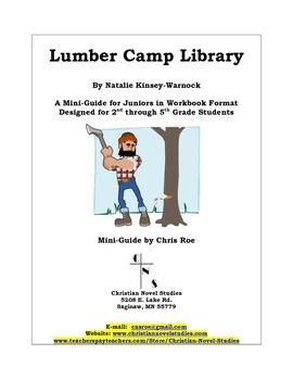 Mini-Guide for Juniors: Lumber Camp Library Workbook