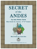 Mini-Guide for Juniors: Secret of the Andes Interactive