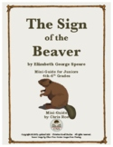 Mini-Guide for Juniors: The Sign of the Beaver Interactive
