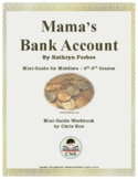 Mini-Guide for Middlers: Mama's Bank Account Workbook