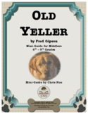Mini-Guide for Middlers: Old Yeller Interactive
