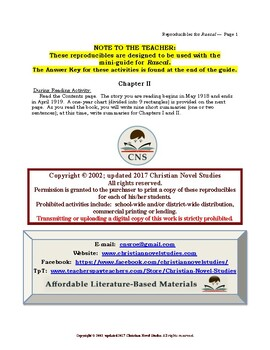 Mini-Guide for Middlers: Rascal Reproducibles