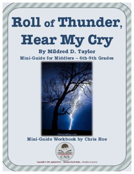 Mini-Guide for Middlers: Roll of Thunder, Hear My Cry Workbook
