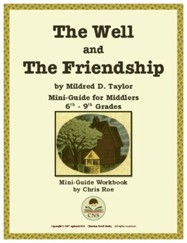 Mini-Guide for Middlers: The Well and The Friendship Workbook