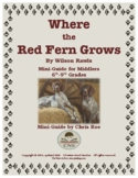 Mini-Guide for Middlers: Where the Red Fern Grows Interactive