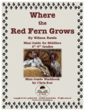 Mini-Guide for Middlers: Where the Red Fern Grows Workbook
