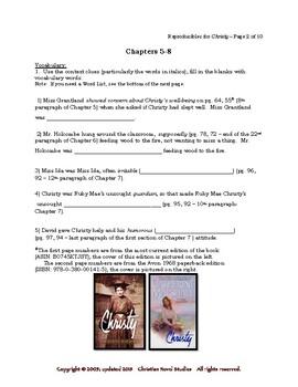 Mini-Guide for Seniors: Christy Reproducibles
