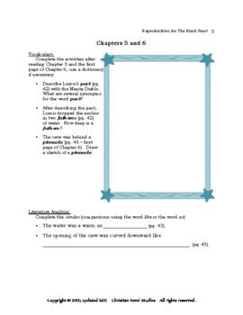 Mini-Guide for Seniors: The Black Pearl Reproducibles