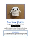 Fiber Art Craft for Beginners Halloween Ghost Amigurumi Cr