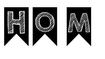 Mini-Homework Banner