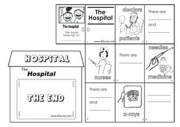 Mini Hospital Book