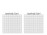 Mini Hundreds Chart