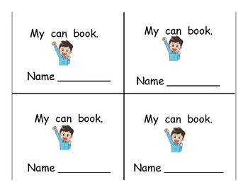 "Mini ""I can"" Books"