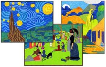 Mini Impressionists Mini Murals