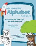 Mini Interactive Alphabet Reading Workbook